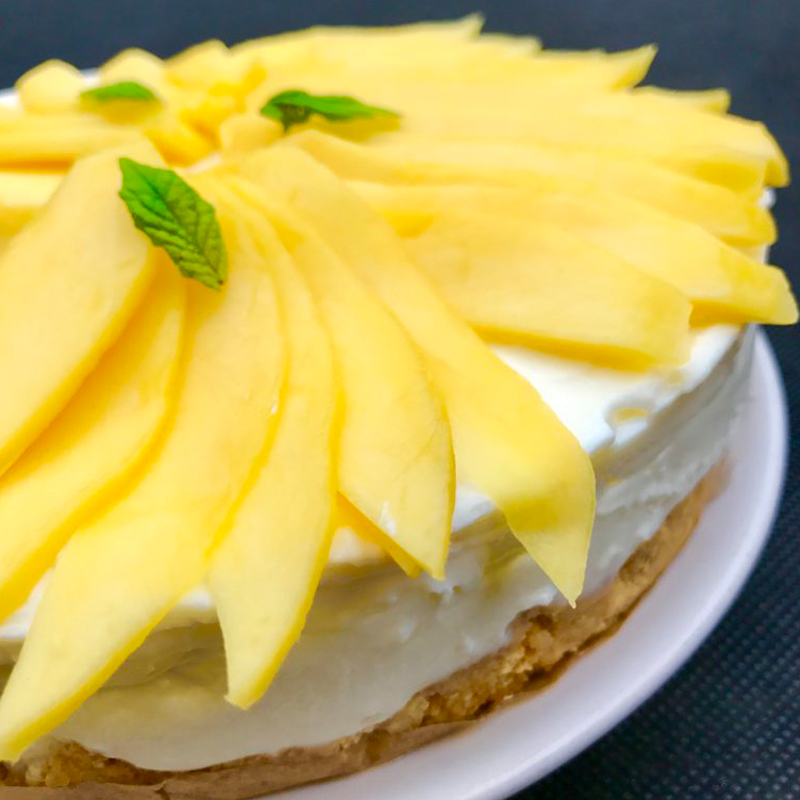 coconut-and-mango-refrigerator-fresh-cheesecake