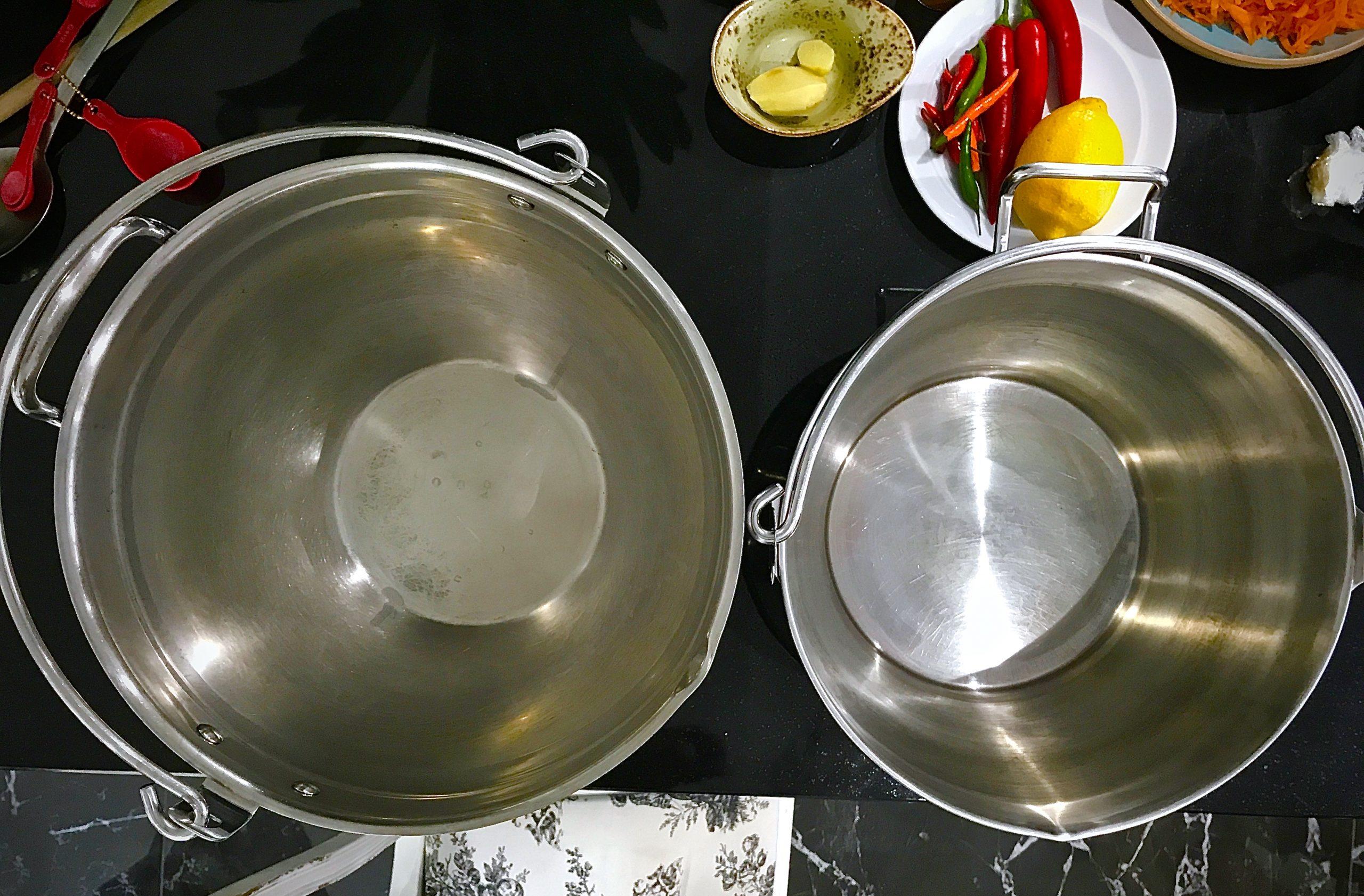 Deep Pan and shallow pan