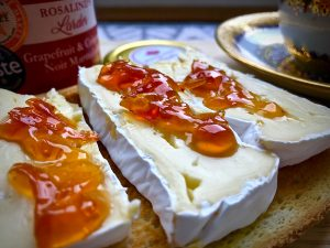 Marmalade with Brie