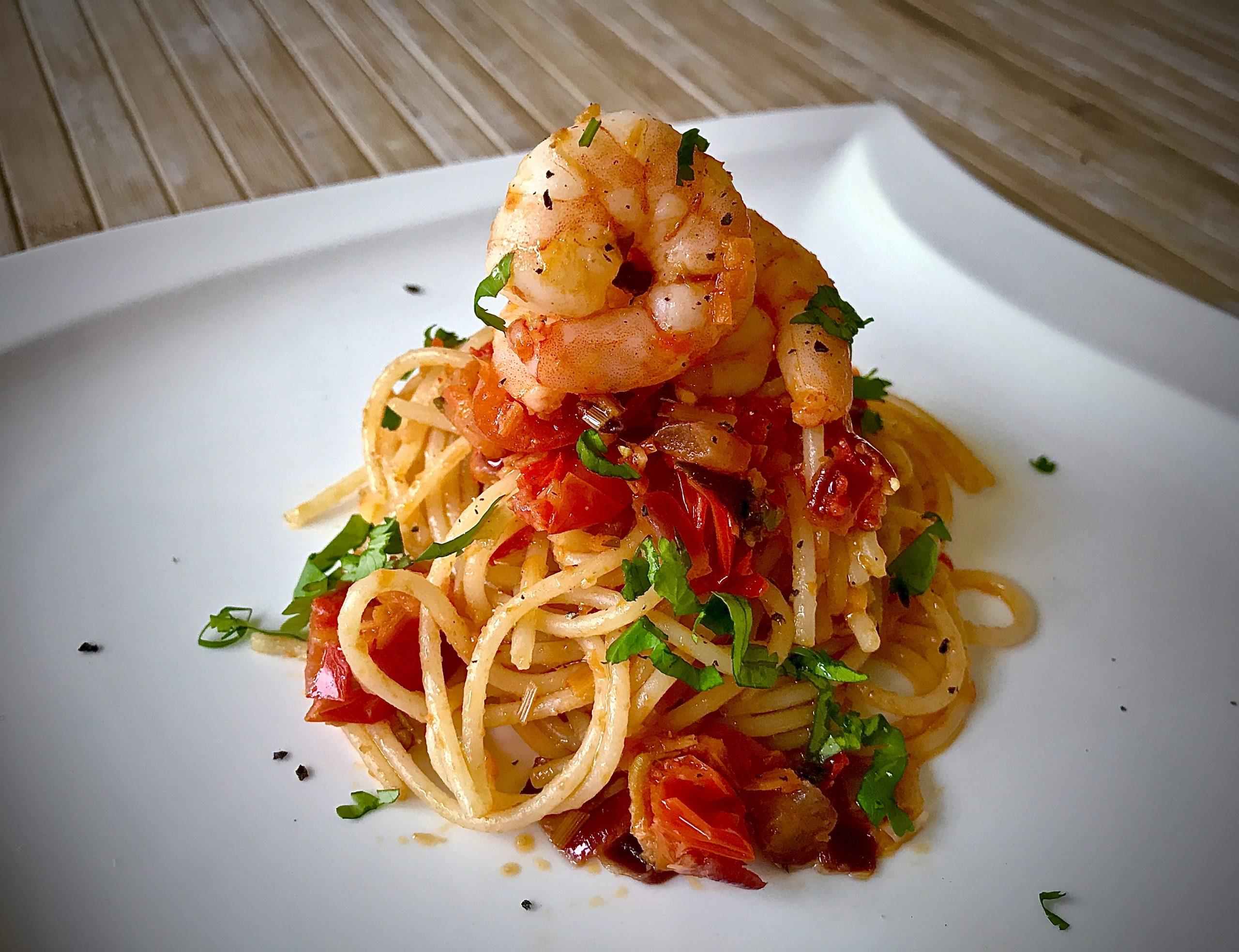 Tom Yum Spaghetti