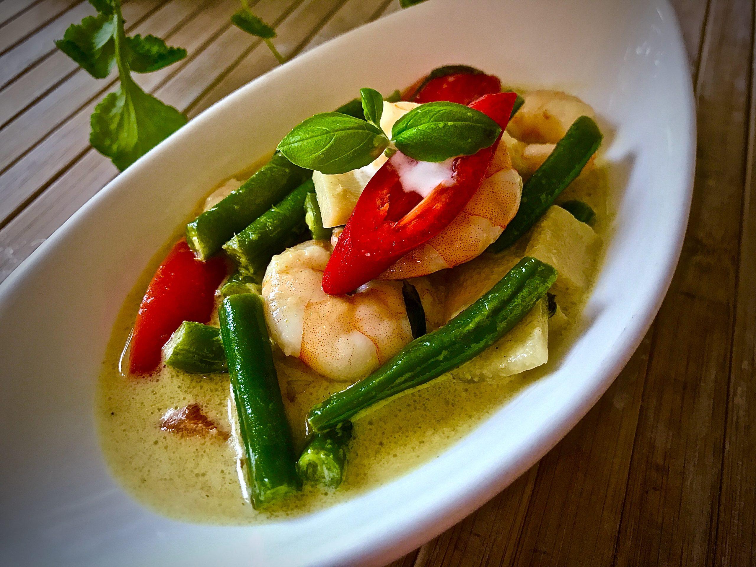 Prawn Thai Green Curry