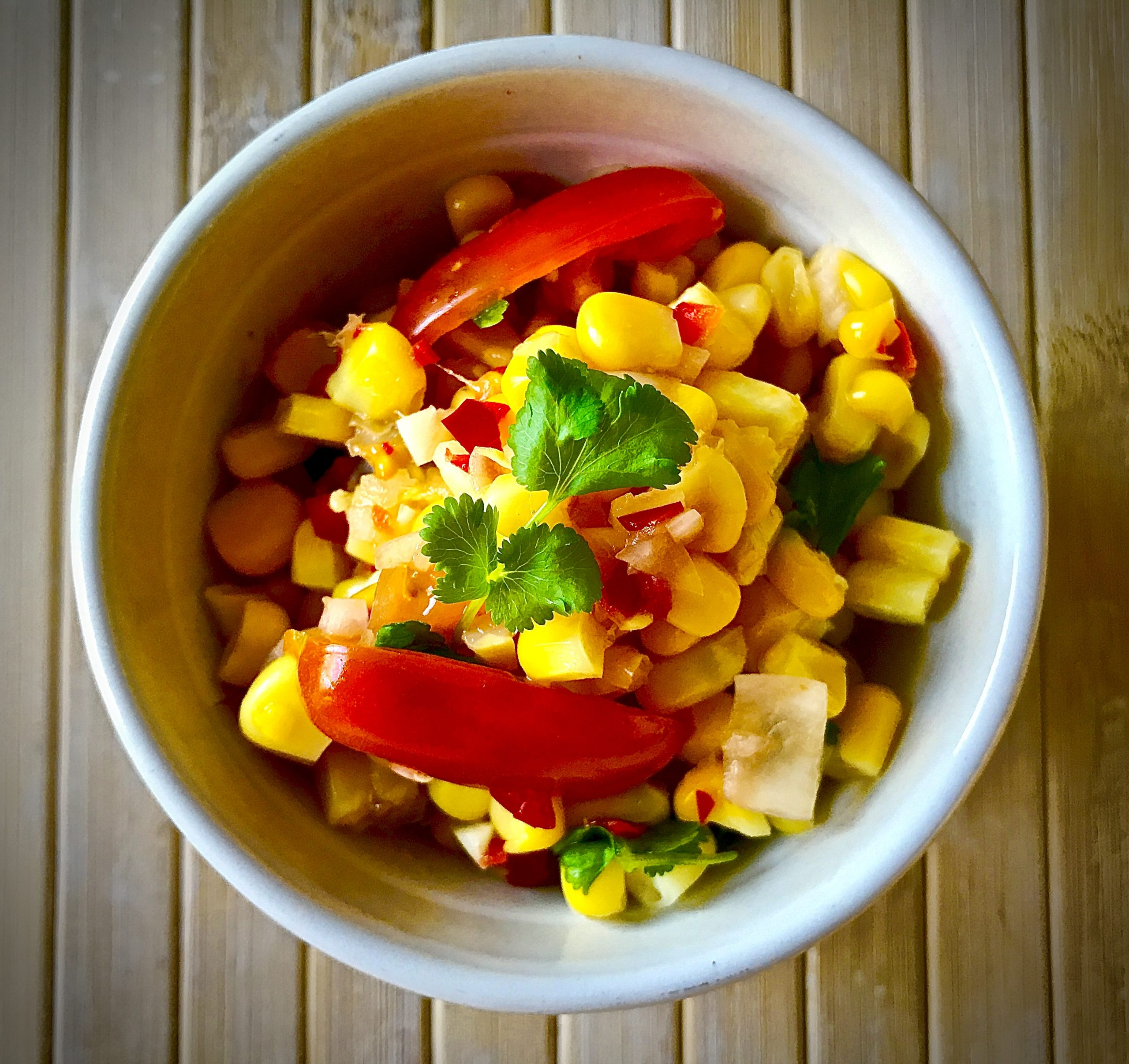 Sweetcorn Winter Salad