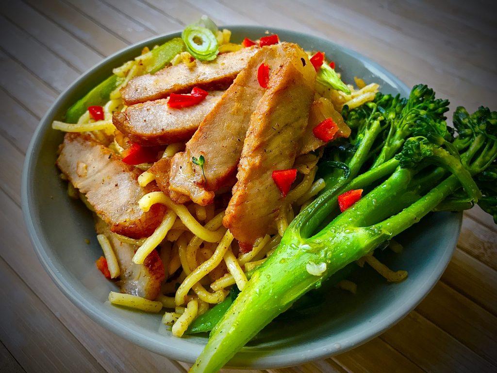 Char Siu Chow Mein