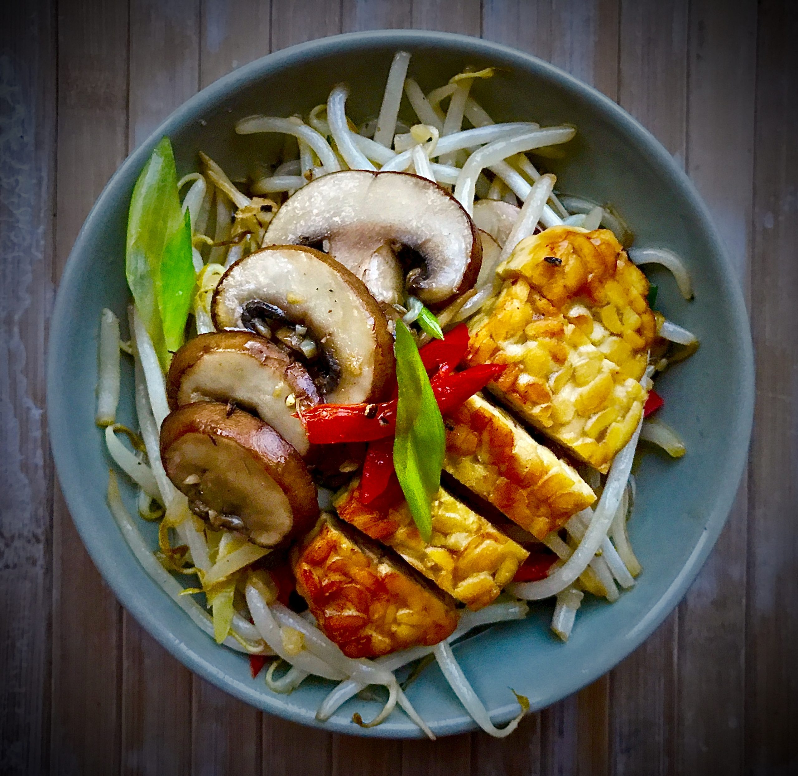 Beansprouts Stir-Fried (Vegan)
