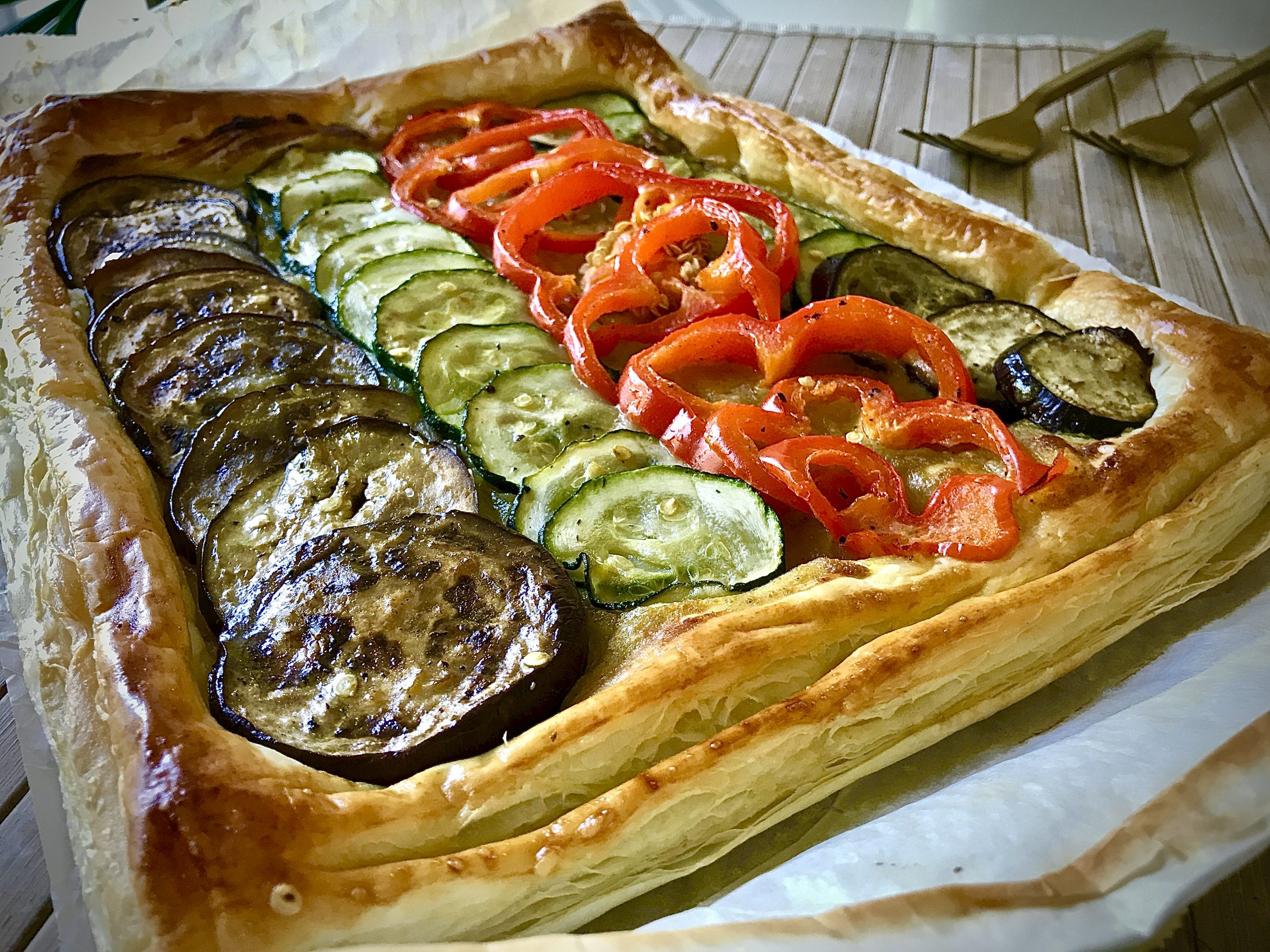 Vegetable Curry Puff Pastry
