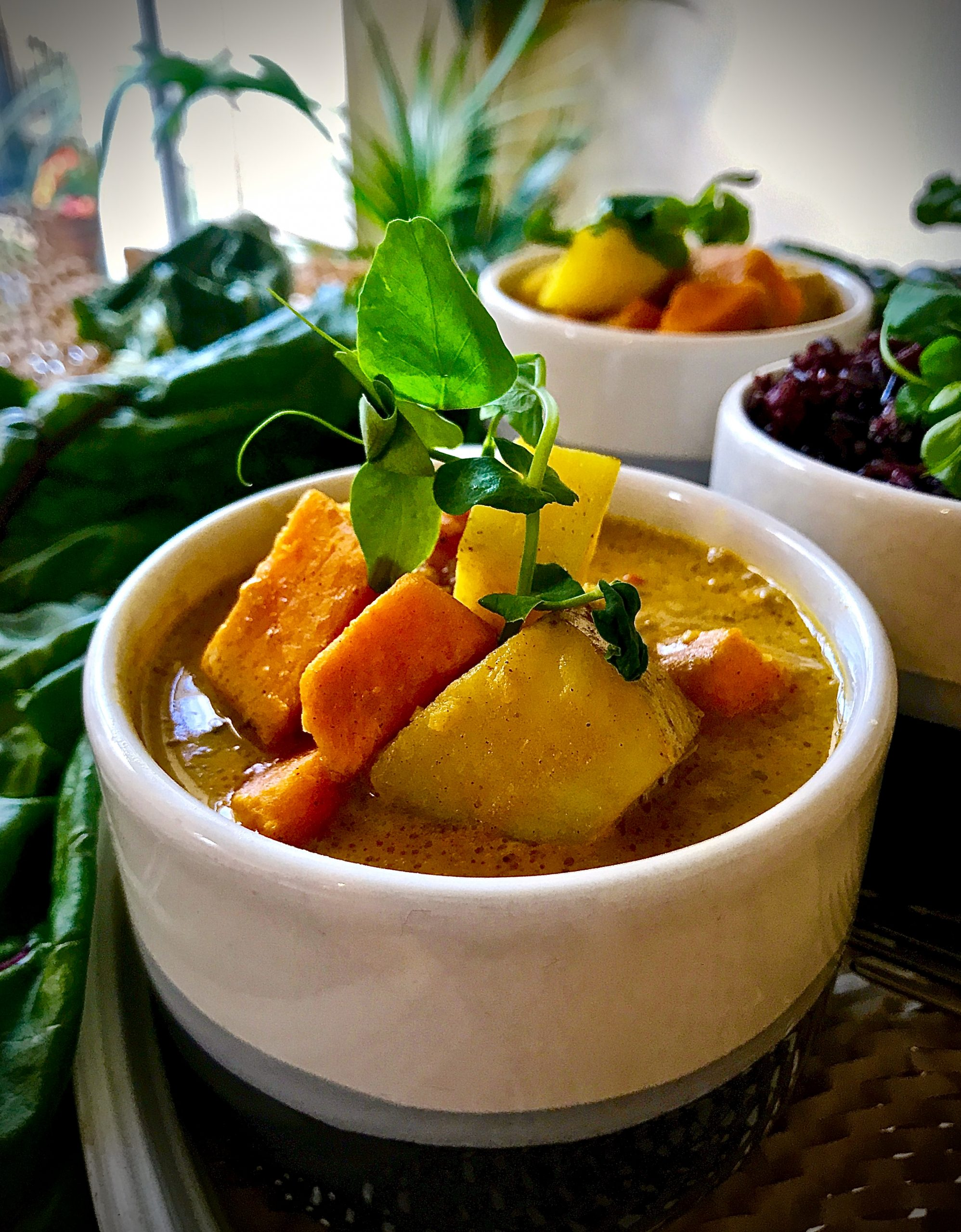 Thai Yellow Curry (Vegan)
